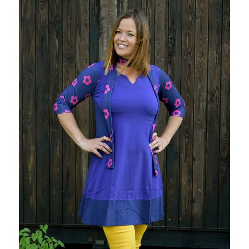 029d5e244204 Tunika med mönstrade ärmar, 'Pinja' - Dress Like Marie