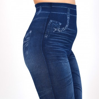 Jeansleggings