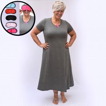 Grey nightgown