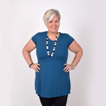 Short sleeved basic tunic, ANITA