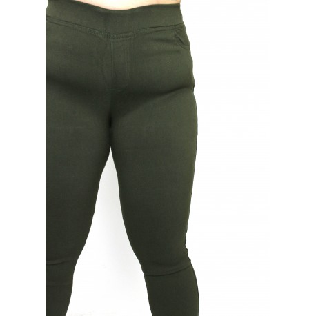 Green stretchpants