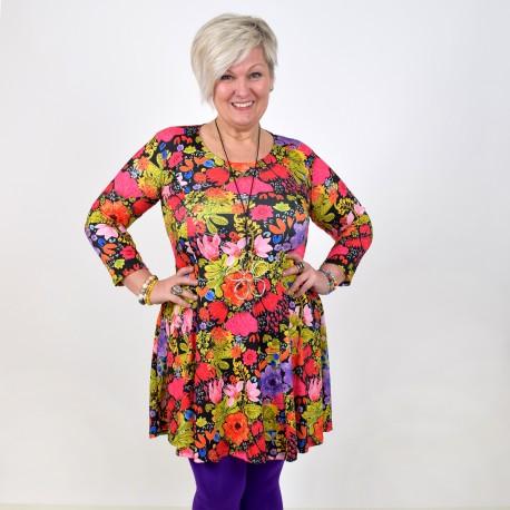 Patterned dress, BEATA