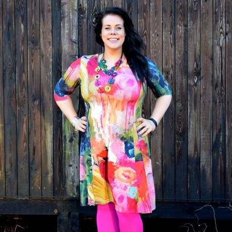 Kuviollinen mekko, WENDY