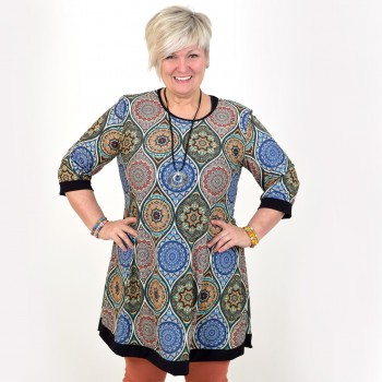 Patterned tunic, JOSEFIN