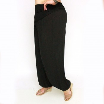 Thin loose pants, HILMA, black
