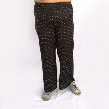 Wide pants with dots, BEA