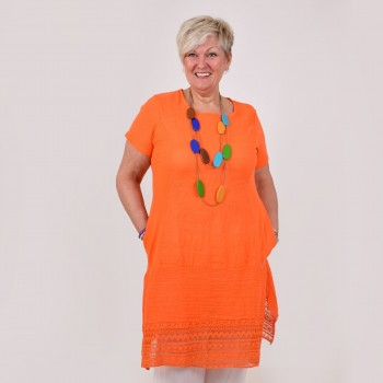 Tunic in linen, EDLA