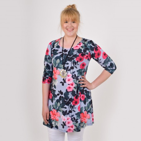 Tunic with a floral pattern, IDA