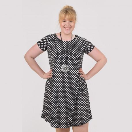 Tunic with dots and short sleeve, MARINA