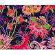 Floral blouse with birds, DORIS