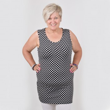 Long top with dots, LUNIKA