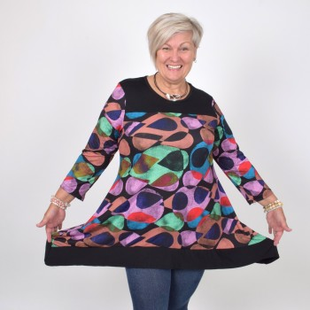Patterned tunic, VERONIKA