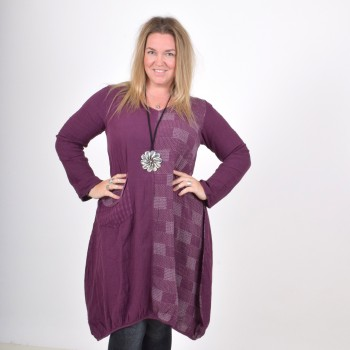 Cotton tunic with a frontpocket, WILMA