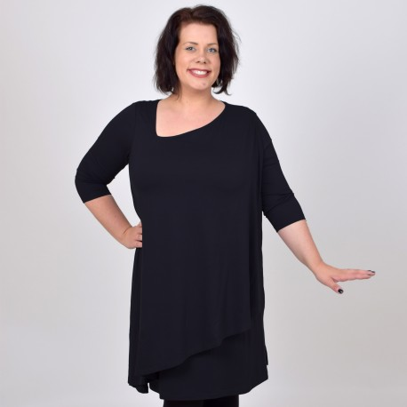 Asymmetric dress, PAULA