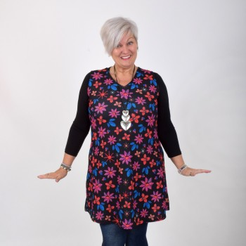 Flower patterned dress / tunic, FLORA