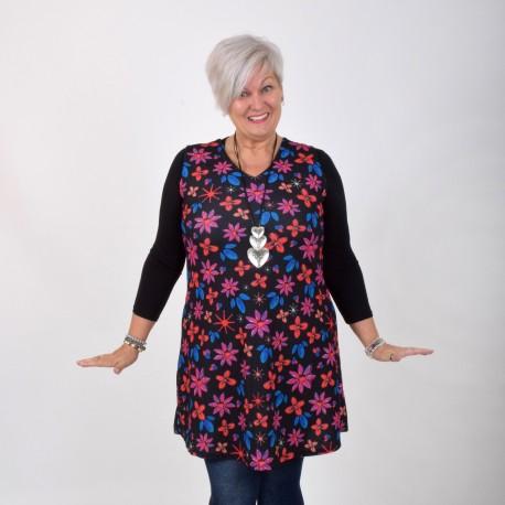 Flower patterned dress / tunic, FLORA