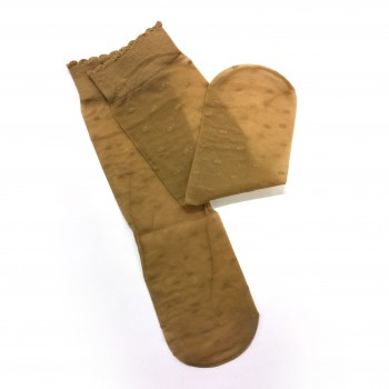 Socks in two colours
