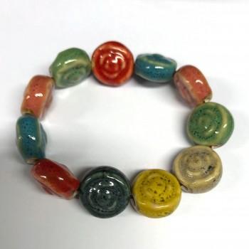 Bracelet in ceramics