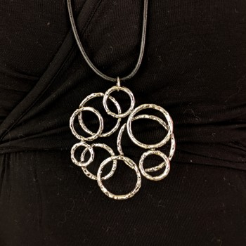 Necklace with rings