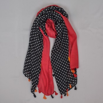 Big scarf with dots
