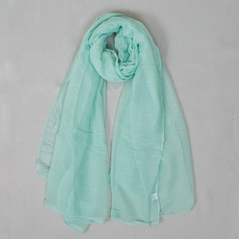 Solid colored scarf