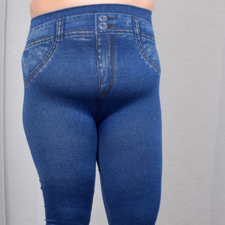 Jeans leggings in two colors