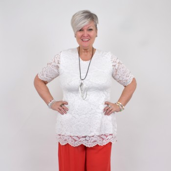 White lace tunic, ANN