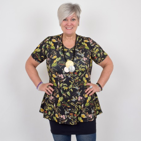 Floral tunic, DIANA