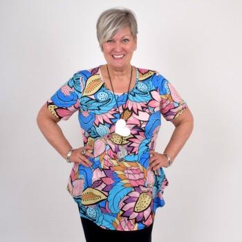 Kukkakuviollinen A-linjainen paita, DORIS