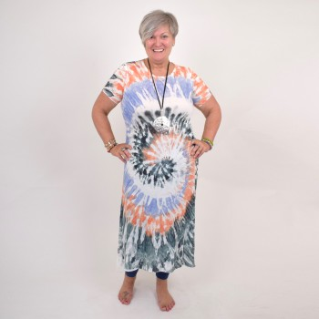 Long batic tunic, available in many colors