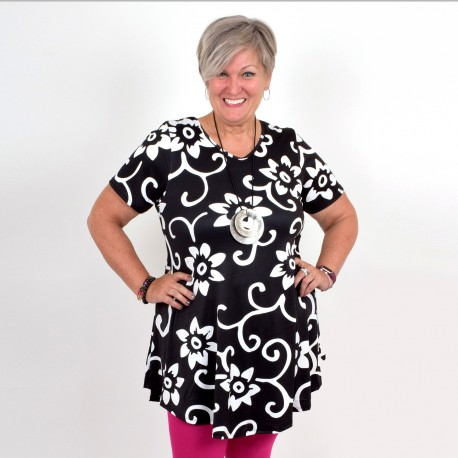Flattering A-lined tunic, MICHELLE