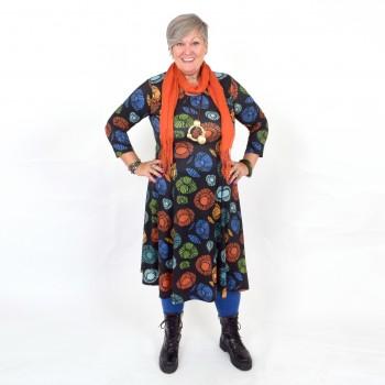 Kuviollinen puolipitkä mekko, BEATA MIDI