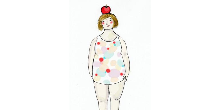 Tips till dig med äppelformad kroppsform
