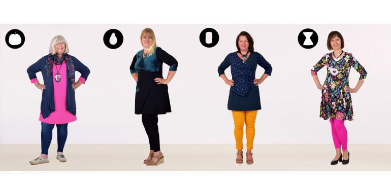 klädtips för korta kvinnor